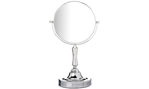 Sagler vanity makeup mirror chrome