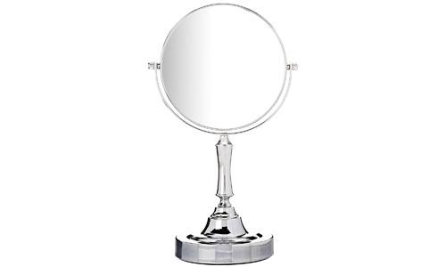 Sagler vanity makeup mirror chrome