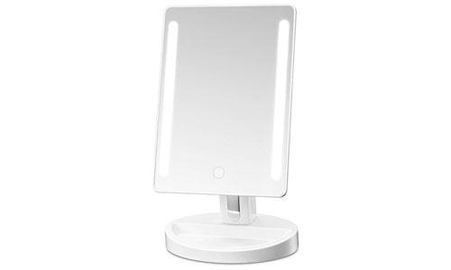 Gotofine led lighted vanity makeup mirror