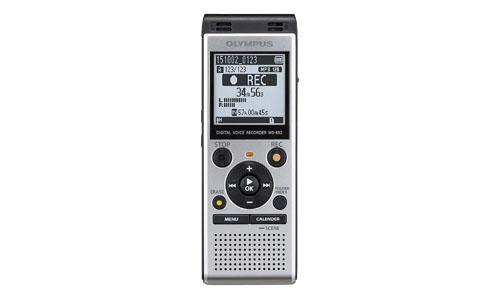 Olympus: Digital Voice Recorder WS-852, Silver.