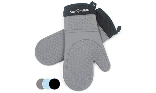 Frux Home and Yard Grey Oven Hot Mitts