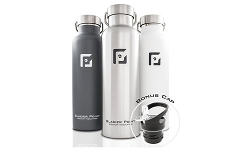 Glacier Point Vacuum Water Bottle