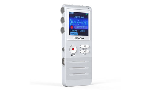 Dictopro: Digital Voice Activated Recorder