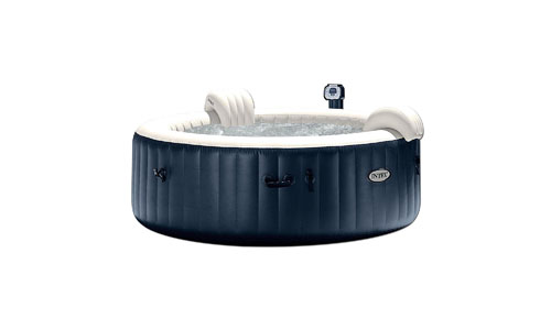 INTEX presents Pure Inflatable Heated Bubble Hot Tub Spa for 6 people 28409