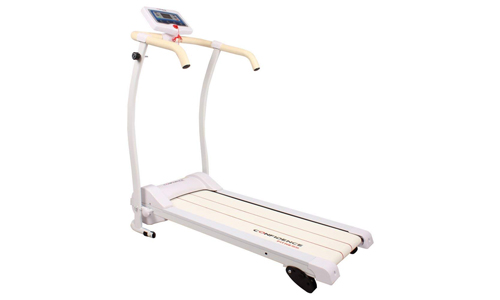 Confidence presents Power Trac Pro Folding Electric Motorized Treadmill, WHITE