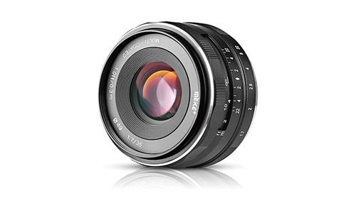 MEIKE: Meike MK-E-35-1.7 35mm F1.7 Large Aperture Manual Prime Fixed Lens APS-C for Sony E-Mount Digital Mirrorless Cameras NEX 3 NEX 3N NEX 5 NEX 5T NEX 5R NEX 6 7 A5000, A5100, A6000, A6100,A6300 A6500.