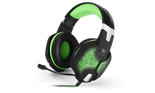 Gaming Headset, Forestfish PC Gaming Headsets Headphone with Built-in Microphone