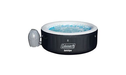 Bestway presents Coleman Inflatable Hot Tub for 4-Person 13804, Black