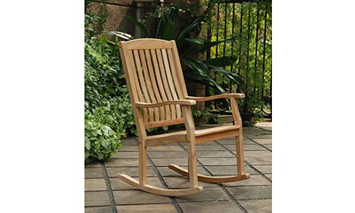 Traditional Style Sherwood Natural Brown Rocking Chairs Outdoor Rocking Chairs