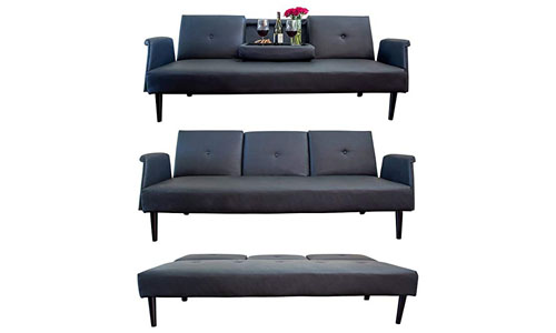 Comfify Leather Sofa Bed