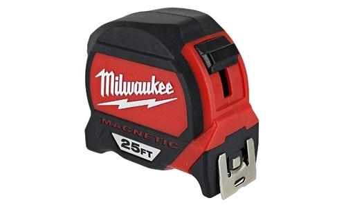 Milwaukee presents 25ft Magnetic Tape Measure Tool 48-22-7125