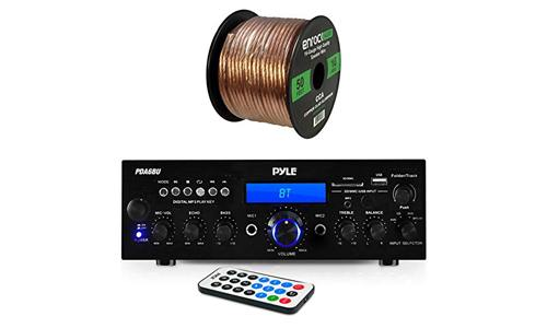 The Pyle PDA6BU Amplifier Receiver Stereo