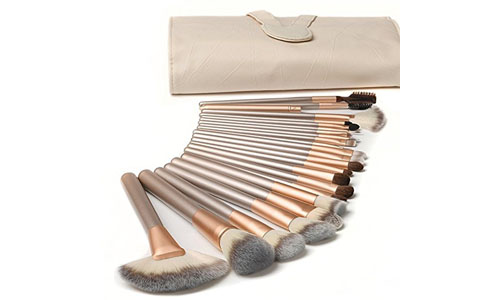Ammiy branded makeup brush set