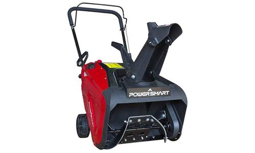 PowerSmart DB7005 21 Inch 196cc Single Stage Snow Thrower.