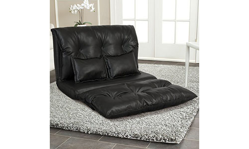 Best Choice Products Leather Modern Floor Sofa