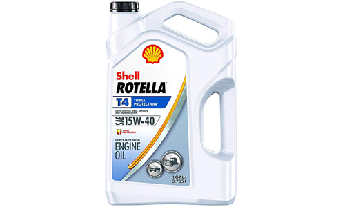 Shell ROTELLA T4 Triple Protection 15W-40 Engine Oil