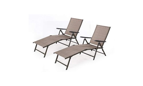 Cloud Mountain Adjustable Chaise Lounge Chair
