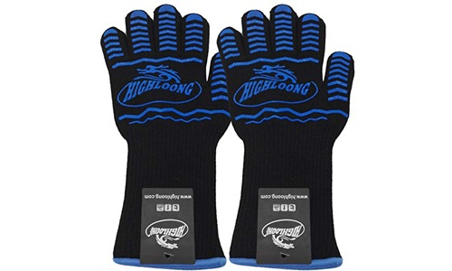 HIGHLOONG Heat Resistant Safety Gloves