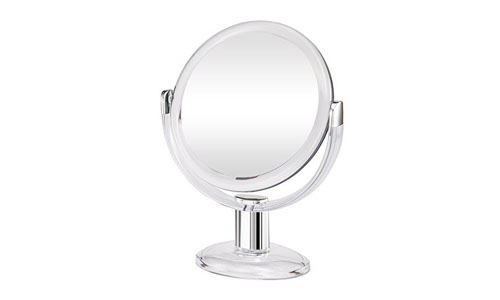 Gotofine double sided magnifying makeup mirror