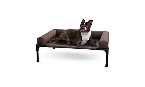 K&H Pet Products Original Bolster Pet Cot Elevated Pet Bed with Removable Bolsters