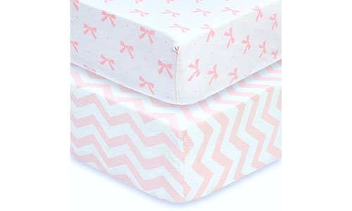 Cuddly Cubs Baby Sheet Set