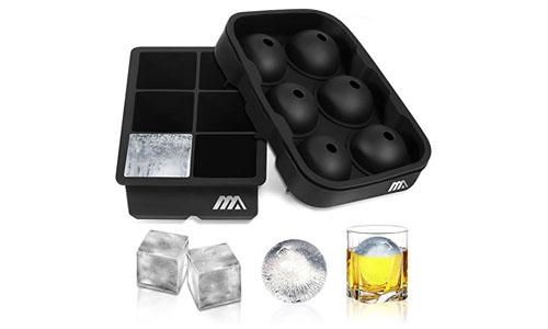 Adoric Silicone Ice Cube Trays