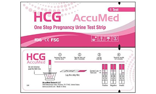 AccuMed Pregnancy Test Strips
