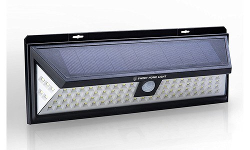 SweetHomeLight presents 86 LED Solar Lights Motion Sensor