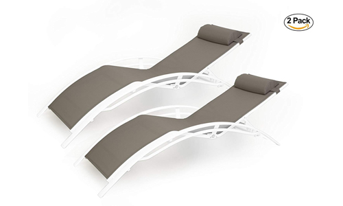 Kozyard Elegant Patio Chaise Lounge