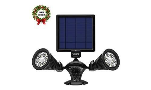 VANDENG presents Solar Motion Sensor Light with Waterproof, Dustproof and Fogproof