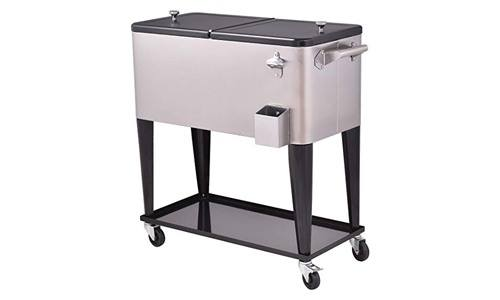Giantex patio roller cooling cart