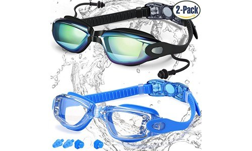 COOLOO Dual Swim Goggles