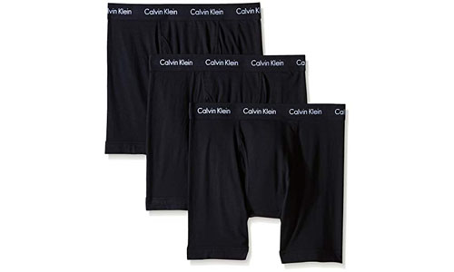 Calvin Klein Stretch 3 Pack Cotton Boxer Briefs