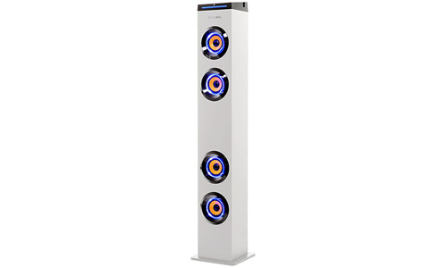 ARTSOUND Bluetooth Tower Speaker with Lights