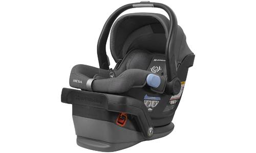 UPPAbaby presents Infant Car Sear MESA – (Charcoal Melange) Jordan