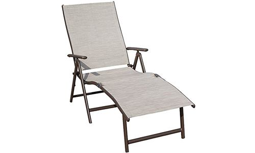 Kozyard Reclining Chaise Lounge Chair