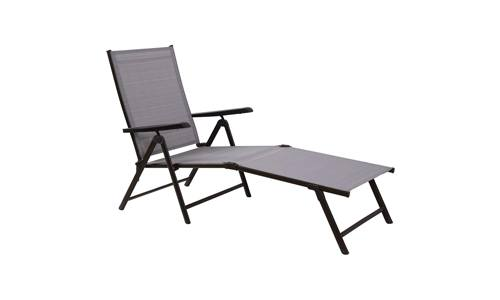PHI VILLA Patio Folding Lounge Chair