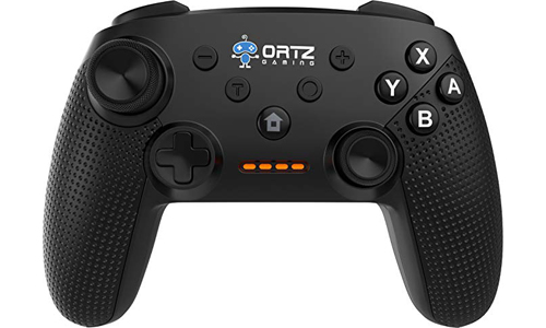 Ortz Wireless Gaming Controller for Nintendo Switch [TURBO BUTTONS] Premium Quality Gamepad Joypad Remote - Best PC USB Computer Gamepad for Nintendo Switch