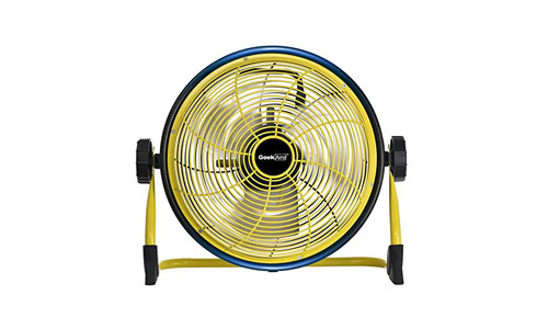 Geek Aire Rechargeable Outdoor Floor High-Velocity Fan, Cordless