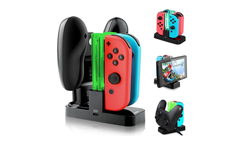 Opard 4 in 1 Nintendo Switch Controller Charging Dock