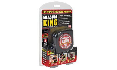 ONTEL presents 3-in-1 Measuring Tape with Roller Mode, Sonic Mode, String Mode MK-MC 12/4
