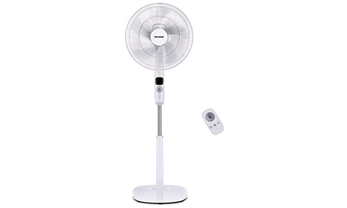 Pelonis Oscillating Pedestal Fan, Turbo Silence Stand Fan 16