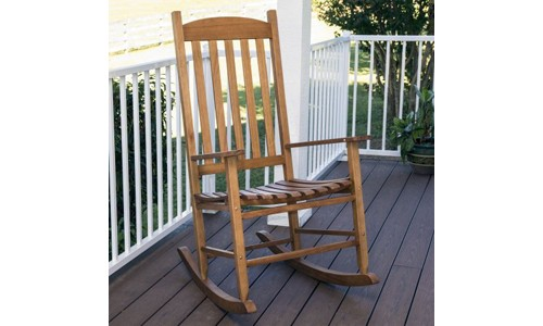 Mainstays` presents Outdoor Rocking Chair, Brown
