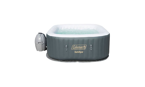 COLEMAN presents SaluSpa Hot Water Inflatable Portable Tub, Grey
