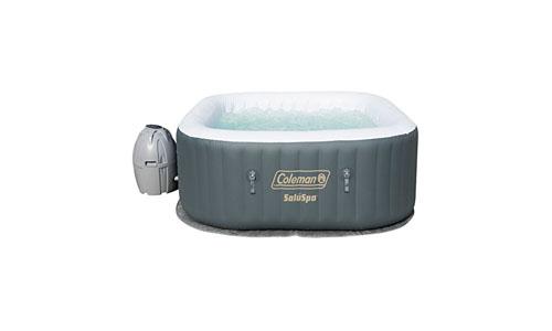 COLEMAN presents SaluSpa Hot Water Inflatable Portable Tub, Grey