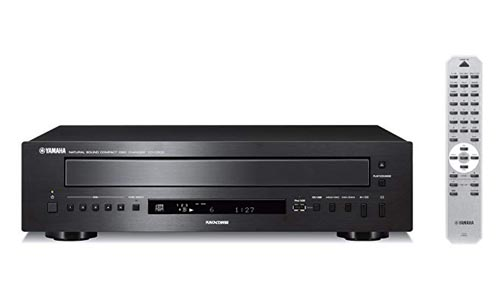 Yamaha 5-Disc CD Changer Black