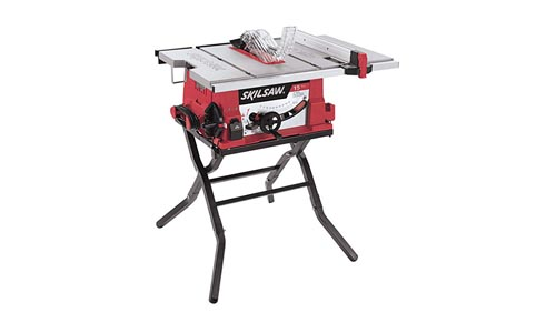 SKIL Table Saw with Folding Stand