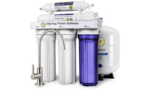 iSpring RCC7 Under-sink RO Water Filter System