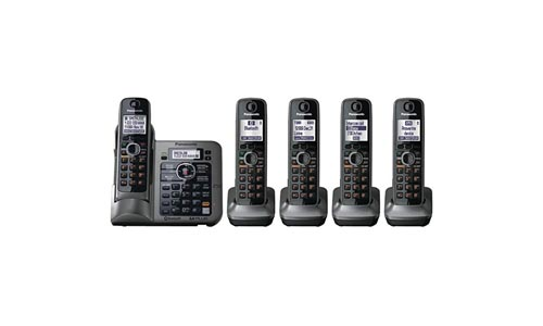 Panasonic KX-TG7645M Bluetooth Cordless Phone
