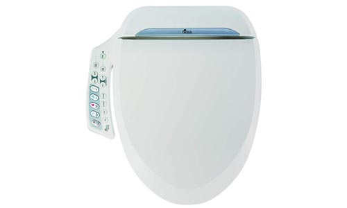 Bio Bidet Ultimate BB-600 Advanced Bidet Toilet Seat, Elongated White.
